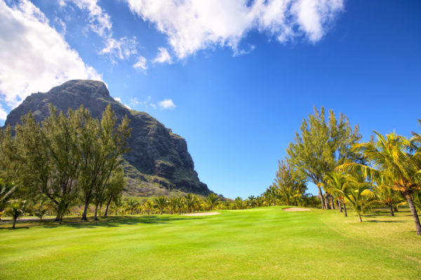 Tropical Golf Course